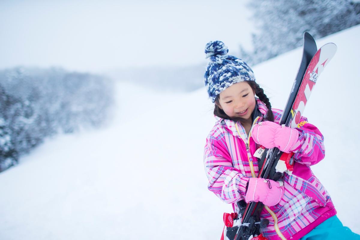 2月のスキーこどもの日