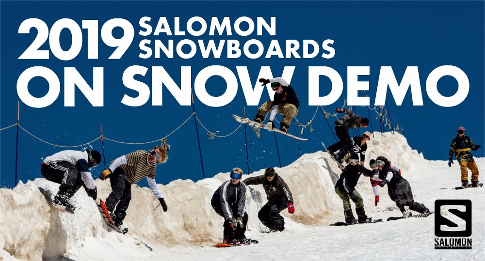 2019 SALOMON SNOWBOARDS ON SNOW DEMO